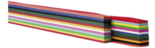 Vlechtrepen-|-120-grams-|-12-kleuren-|-50-x-1-cm