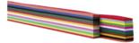 Vlechtrepen-|-120-grams-|-12-kleuren-|-50-x-4-cm