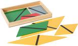 Gekleurde-constructie-driehoeken-in-4-hoekig-kistje