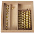 Gouden-materiaal-Kistje-met-9-staafjes-van-tien-en-10-losse-kralen-Losse-kunststof-kralen