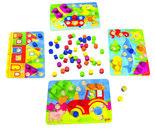 Toewijzenpuzzels-Kleurenspel
