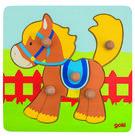 Knoppuzzel-Paard