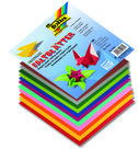 96-Origami-vouwbladen-80-gr.-vierkant-10x10-cm-assorti-8-kleuren